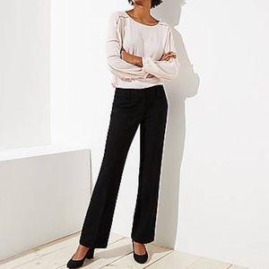 Ann Taylor Loft   Black Marissa Trousers Sz 4P